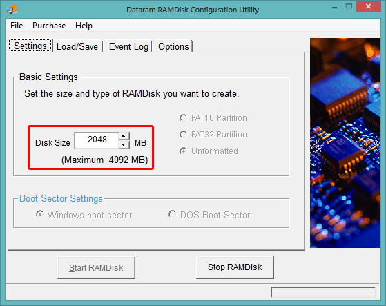 Using a RAMDisk for disk cache (Windows) - Catznip